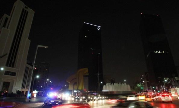 PIE DE FOTO: En la Ciudad de México, edificios públicos apagaron sus luces (Getty Images)