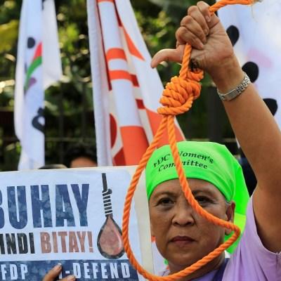 Filipinas se perfila a castigar con pena de muerte el tráfico de drogas