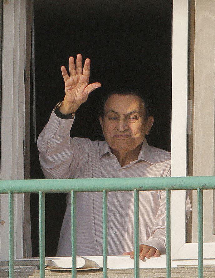 Exlíder egipcio Mubarak es liberado tras años de prisión