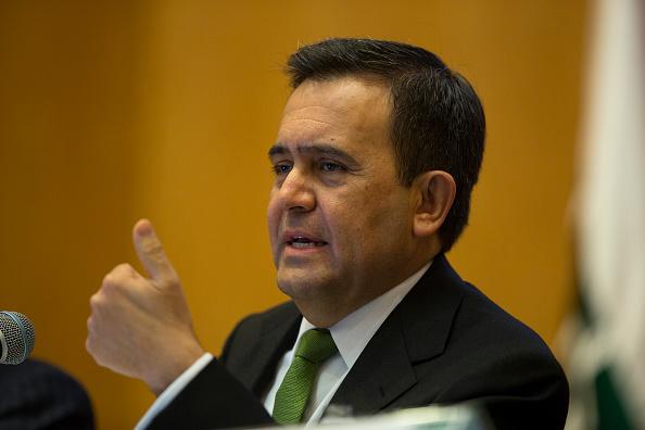 Ildefonso Guajardo Villarreal, secretario de Economía, recibirá en reunión de trabajo a autoridades canadienses. (Getty Images)