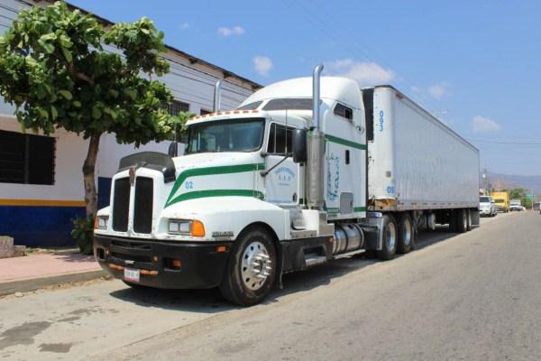 El camión con 135 paquetes de marihuana viajaba de  Suchiate a la Central de Abasto de la Ciudad de México.