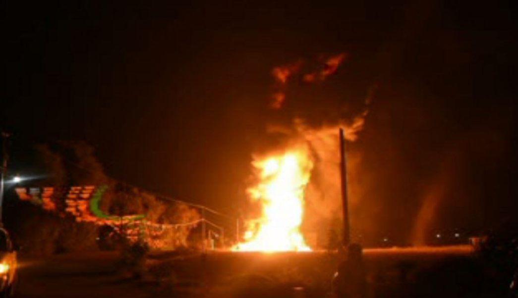 Explota por segunda vez en lo que va de este año un ducto de Petróleos Mexicanos en Acatzingo, Puebla. (Noticieros Televisa)