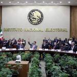 Sesión del Instituto Nacional Electoral