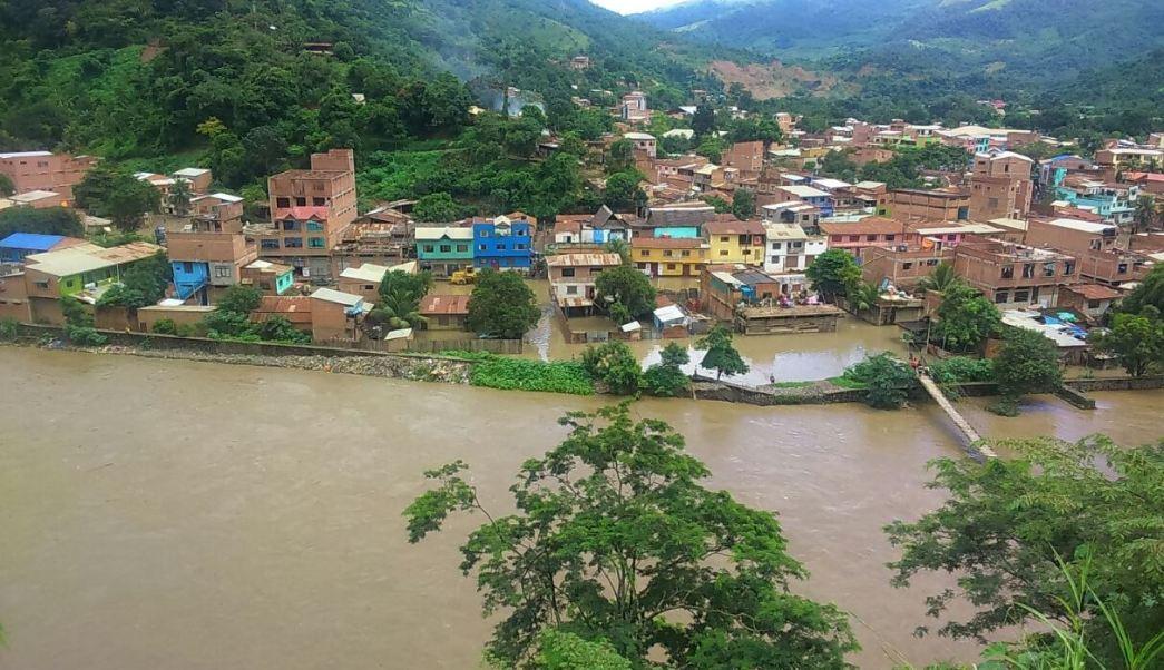 El municipio boliviano de Guanay se declaró en emergencia por inundaciones. (@MRARANIBAR)