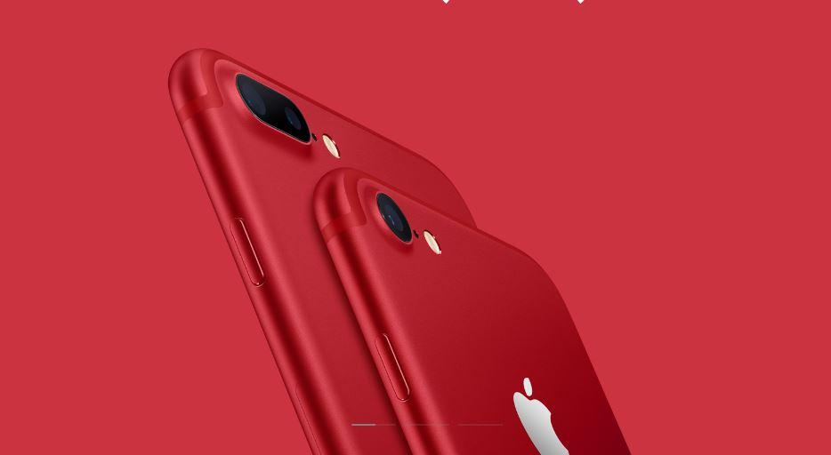 Apple presenta un iPhone en color rojo: RED Special Edition