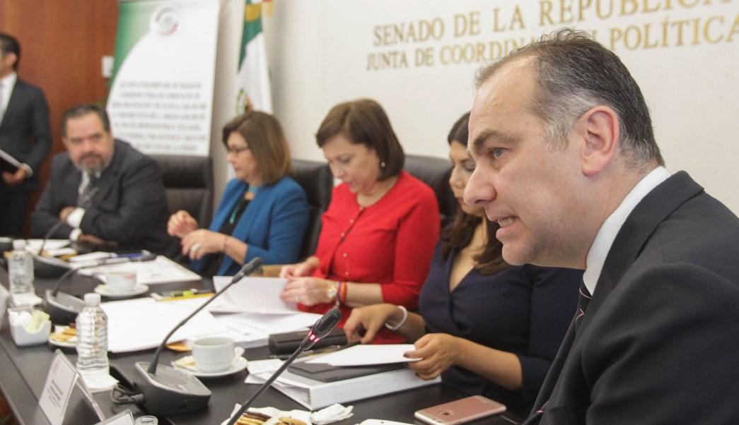 Jaime Rochín del Rincón, propuesto por el Ejecutivo Federal para ocupar el cargo de comisionado ejecutivo de la CEAV.