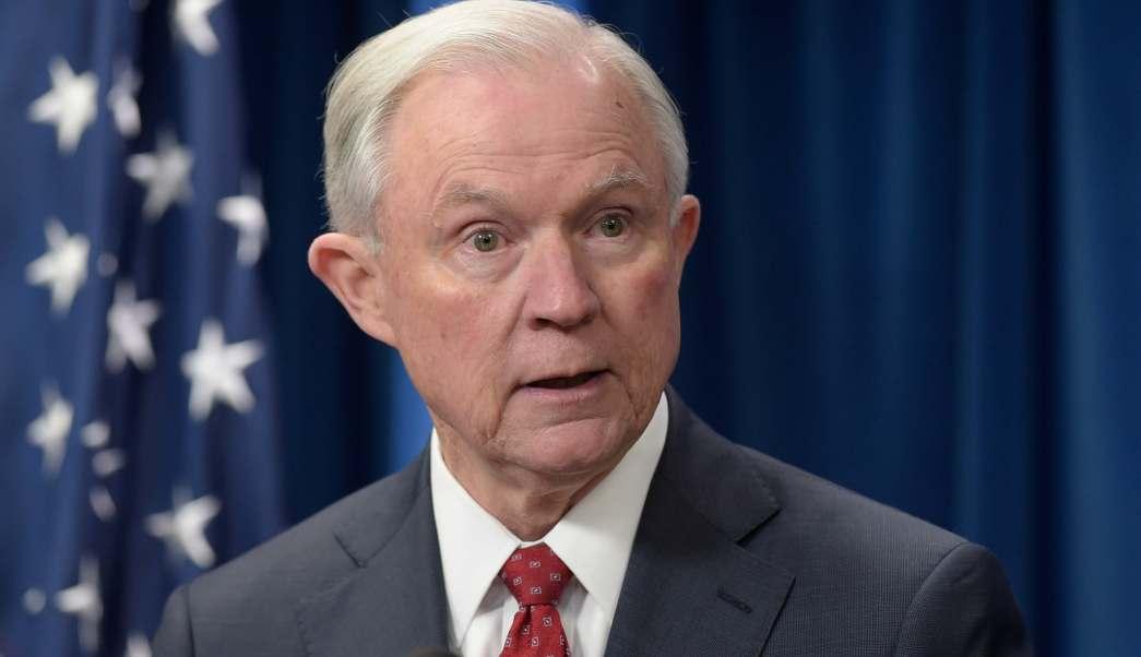 Jeff Sessions, fiscal general de Estados Unidos.