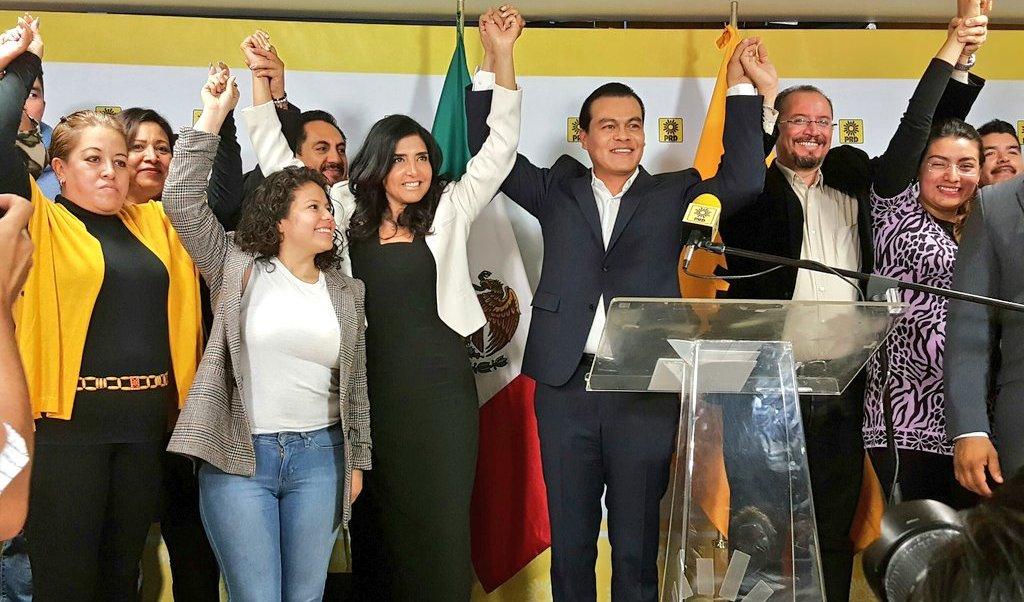 El PRD designó a Juan Zepeda como su candidato a la gubernatura del Estado de México. (Twitter @PRDMexico)