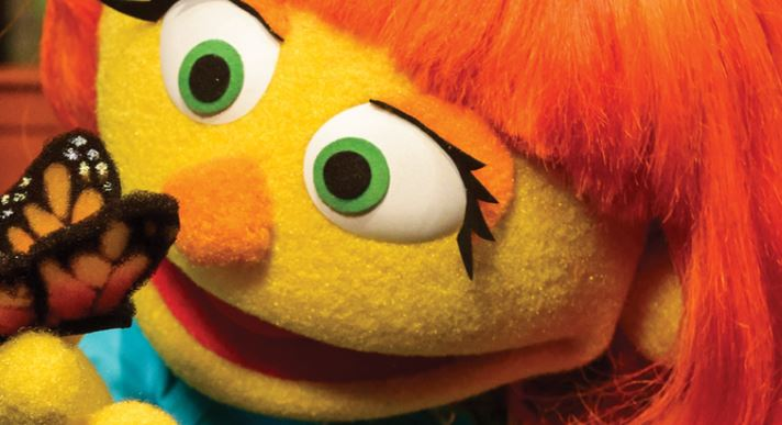 Julia, la nueva muppet de Sesame Street con autismo (http://autism.sesamestreet.org/espanol/)