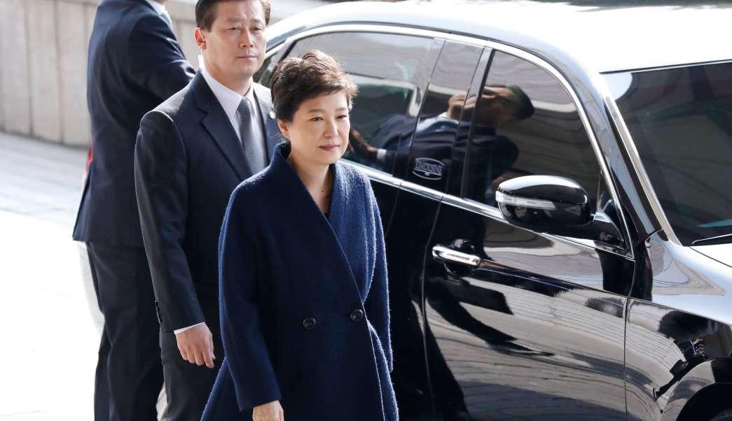 La expresidenta de Corea del Sur, Park Geun-hye, pidió disculpas por el caso Rasputina.