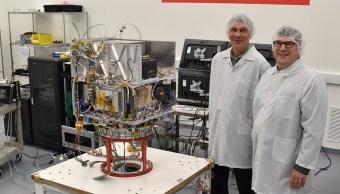 La NASA informó que integró este nuevo instrumento en el satélite Surrey Orbital Test Bed.