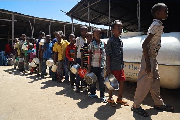 La prioridad, según Unicef, debe ser garantizar el acceso al agua a los niños más vulnerables.