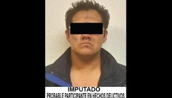Detienen a vendedor de drogas relacionado con robo a dos bancos en la CDMX