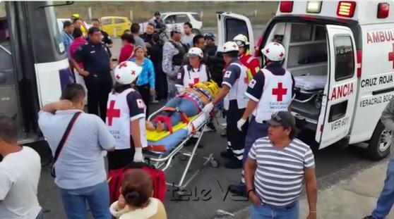 La mayoría de las 30 personas que resultaron lesionadas viajaban a bordo del camión urbano