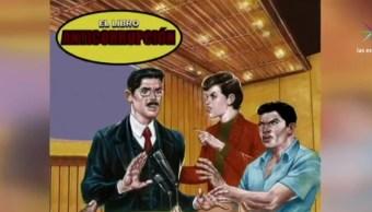 La consultora Ethos y el llamado caucus anticorrupción de la Cámara de Diputados presentan el Libro Vaquero Anticorrupción. (Noticieros Televisa)