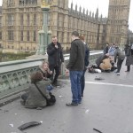 Una mujer es herida por un tiro en el puente de Westminster en Londres (Reuters)