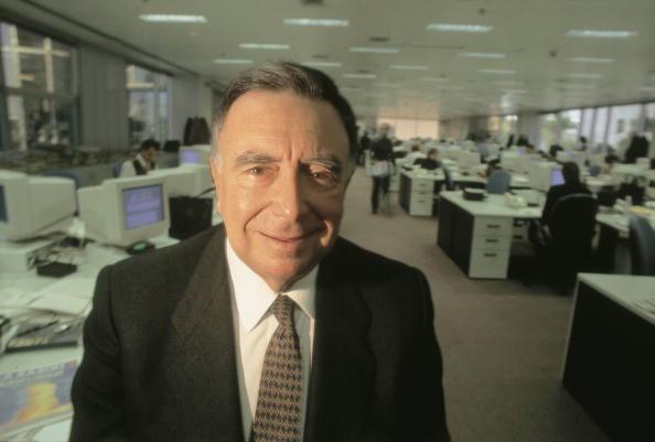 Luis María Ansón, periodista español presidente de los diarios ABC y La Razón. (Getty Images, archivo)