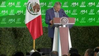 Luis Robles Miaja, presidente de la Asociación de Bancos de México. (Twitter: @PresidenciaMX )