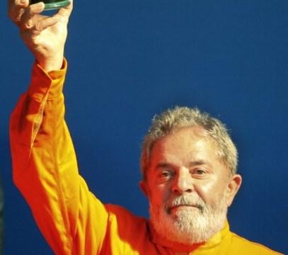 El ex presidente de Brasil, Luiz Inácio Lula da Silva, habla durante una manifestación en Río de Janeiro (Getty Images/archivo)