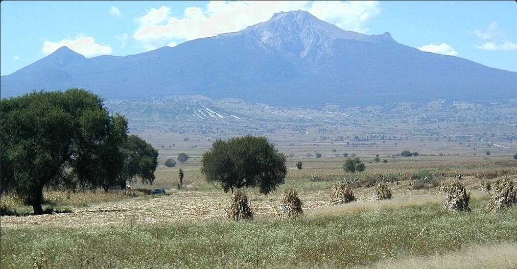 Postal de la montaña la Malintzi, en Tlaxcala; autoridades piden a los visitantes no subir hasta la parte más alta (Twitter @Nuvia_Mayorga)