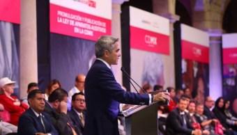 Miguel Ángel Mancera, jefe de gobierno de la CDMX. (Twitter: @ManceraMiguelMX)