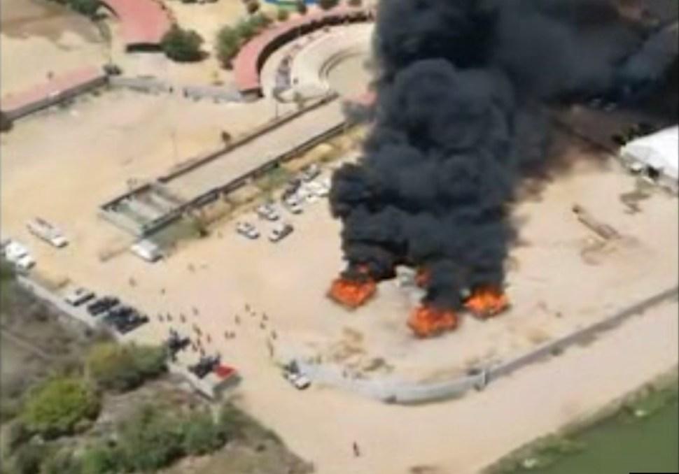 Autoridades federales destruyen varias toneladas de marihuana en Culiacán, Sinaloa (Semar)