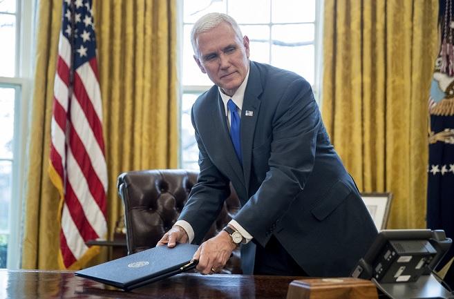 Mike Pence, vicepresidente de Estados Unidos.