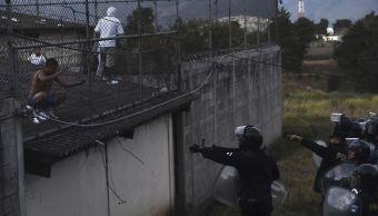 Motín en cárcel de Guatemala (AP, archivo)
