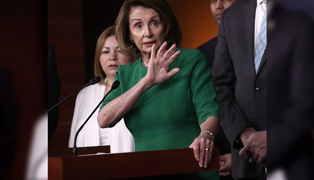 Líder de la minoría Demócrata, Nancy Pelosi. (Reuters)
