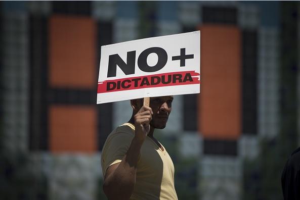 No más dictadura en Venezuela.