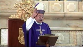 Cardenal Norberto Rivera llama a feligreses a tener fe ante el inicio de la Cuaresma