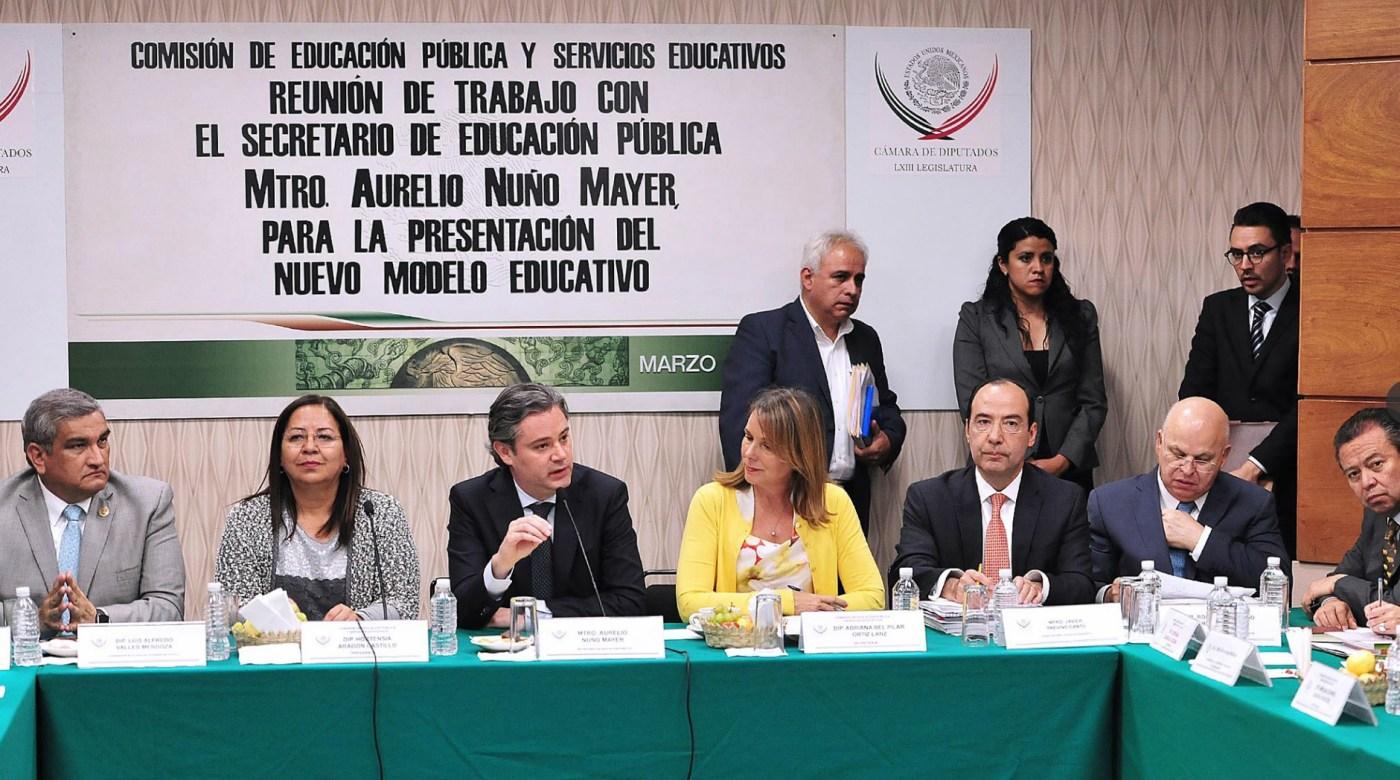 Aurelio Nuño, secretario de Educación, se reúne con diputados de la Comisión de Educación (diputados.gob.mx)