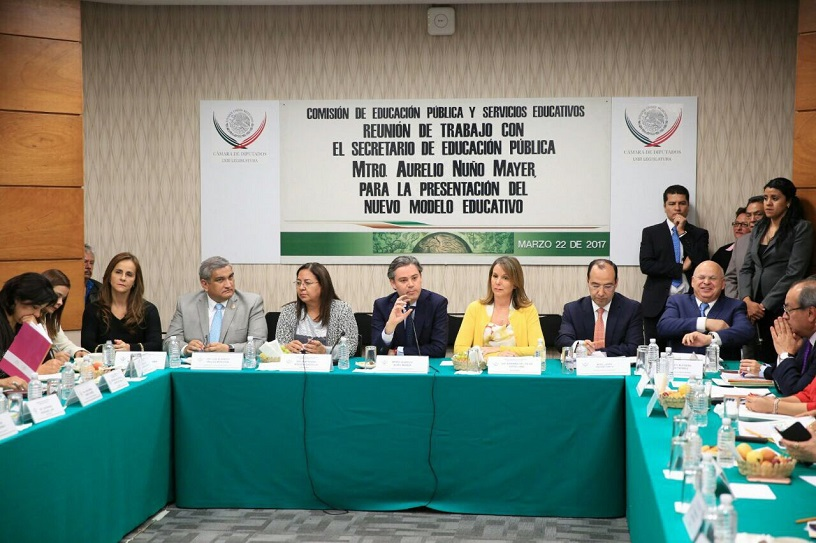 Aurelio Nuño, secretario de Educación se reúne con diputados de la Comisión de Educación (canaldelcongreso.gob.mx)