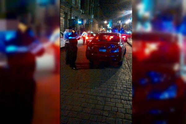 Policías de la Ciudad de México realizan operativos nocturnos para inhibir el delito (Twitter @SSP_CDMX)