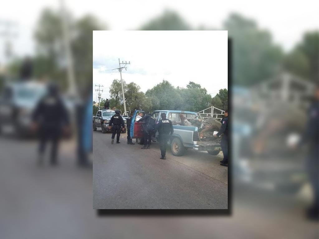 Autoridades de San Luis Potosí y Zacatecas realizan operativos conjuntos para disminuir la delincuencia; policías de Zacatecas detienen a una persona (Twitter @SSP_Zac)