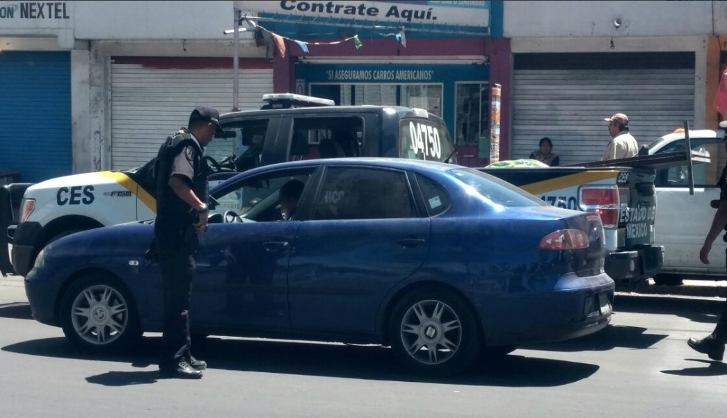 Autoridades del Estado de México realizan trabajos de prevención (Twitter @CESC_Edomex)