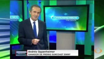 Oppenheimer entrevista a Richard Gere