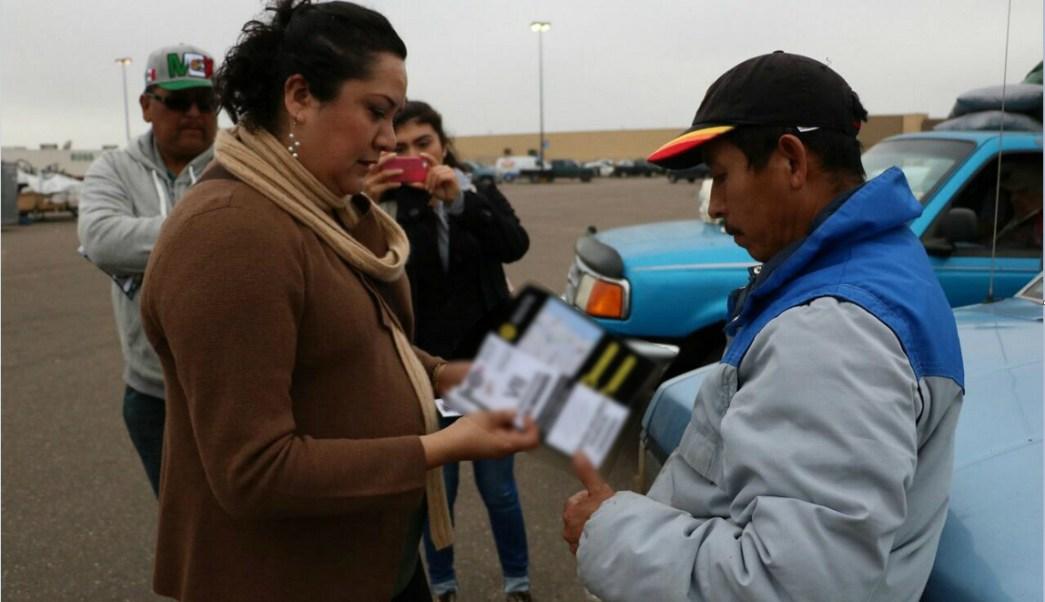 Voluntarios dan atención a migrantes en Estados Unidos; arranca el operativo Paisano 2017 de Semana Santa en Chihuahua (NTX, archivo)