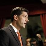 Paul Ryan, líder republicano en la Cámara de Representantes de Estados Unidos.