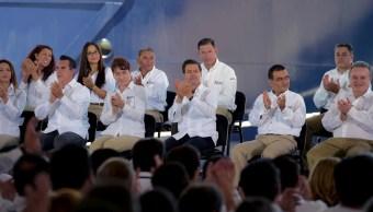 Peña Nieto durante la conmemoración del 79 aniversario de la expropiación petrolera en Ciudad del Carmen Campeche (Presidencia de la República)