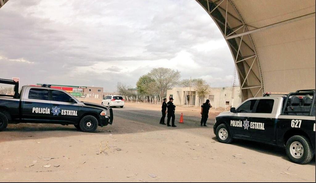 Operativo de la Policía de Sonora.