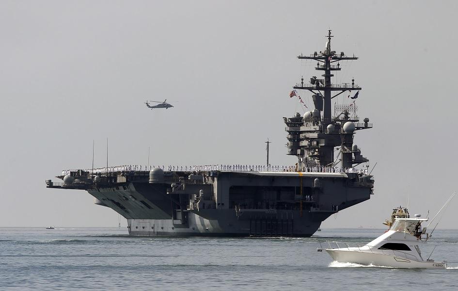 Portaaviones nuclear USS Carl Vinson.
