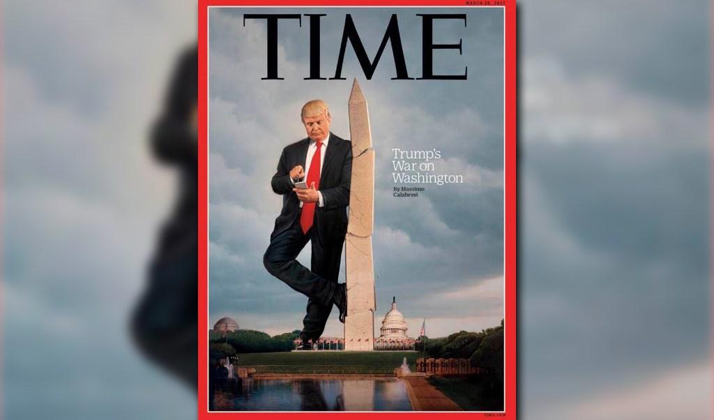 Portada de la revista TIME con Donald Trump (Revista TIME)