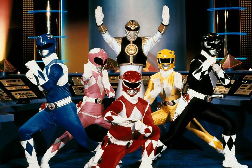 Power Rangers origenes