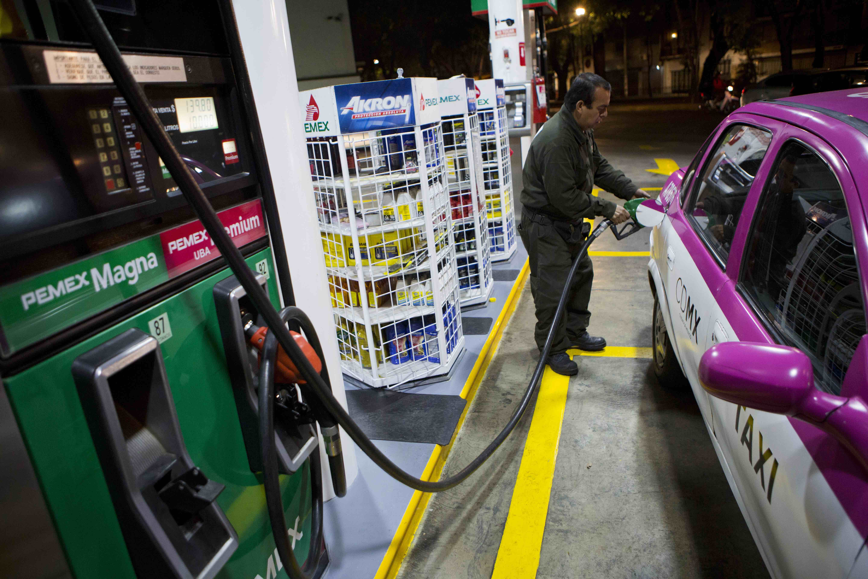 Gasolinera en México