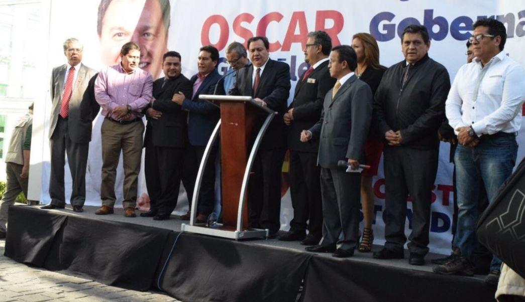 Oscar González dijo que haría todo lo posible para cumplir con su responsabilidad de darles lo mejor a los mexiquenses (Twitter/@Marcaje_Leg)