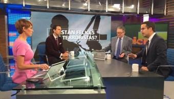 Rafael Fernández de Castro Sámano en la mesa de Despierta con Loret. (Twitter, @NTelevisa_com)
