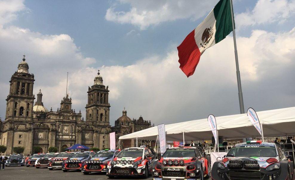 La ruta que recorrerán los 30 automóviles incluye la calle 20 de Noviembre, Plaza de la Constitución y República de Uruguay. (@OfficialWRC )
