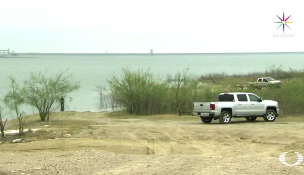 No es la primera vez que ocurre este tipo de agresiones a las orillas del río Bravo en Fronton, localidad ubicada a tres kilómetros de Roma, Texas. (Noticieros Televisa)