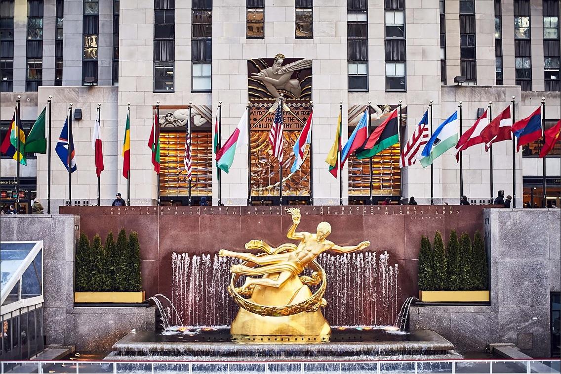 Cultura, historia y caridad se pueden encontrar en el Rockefeller Center (Twitter @rockcenternyc)